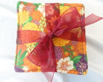 Scented Coasters Fabric  set/4