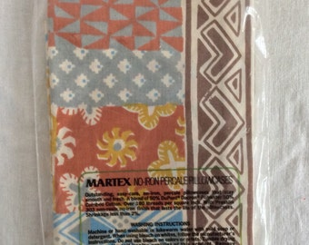 Single vintage standard pillowcase / new in open plastic / martex