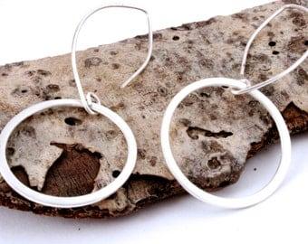 Stelring Silver Hoop earrings