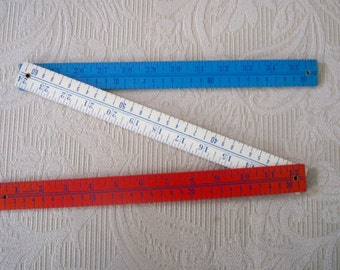 Vintage Ruler Collectible Advertisement Folding Yard Stick Martha's Vineyard Bicentennial Ruler