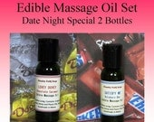 Massage Oil - Edible Massage Oil - Sensual Massage Oil - Gifts For Boyfriends - Gifts For Girlfriends