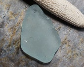 Large Aqua Blue Seaglass. Top Drilled and Chunky. Lot C3