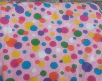 SALE-Polka Dot Party blankie