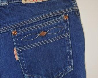 High Waist Vintage Jeans Straight Leg