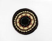 Vintage crochet beret