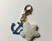 Pretty Diffuser Badge Holder Charm
