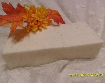 Lemongrass Soap Loaf  2 Lb.   U Pick Base Shea or Goats Milk Base