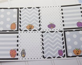 Pumpkin Halloween Stickers Full Box Planner Stickers PS187