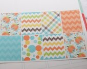 8 Fall Autumn Planner Stickers Squares Full Box Planner Stickers PS193