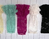 Lace Double Ruffle Leg Warmers Infant-Toddler Child