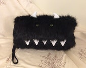 Faux Fur Large Monster Hand Muff