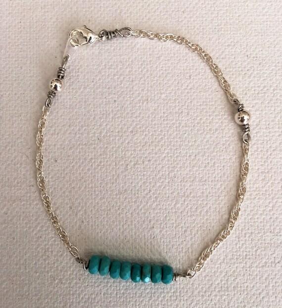 Eternal Eight Turquoise & Sterling Silver Bracelet