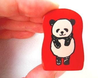 Cute Panda Stamp - Kodomo no Kao