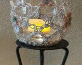 Luminary/Christmas candle/Christmas decor/Flameless candle