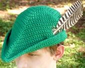 Merry Yeoman Hat - 5 Sizes - PDF Crochet Pattern - Instant Download