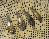 Beautiful Silver Plate Barrette Hair Clip - Your Choice of Pattern (13A)
