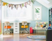 Alphabet bunting upper and lowercase chic classroom