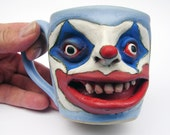 Eye See Christmas Crazy Clown Cup