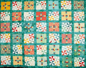 Salt Air – Full or Queen Size Quilt,  81 x 92 inches