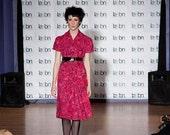 "Dress by Tracy McElfresh 1940s ""Shirt Dress"""