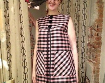 Vintage inspired Silk Mod Dress by Tracy McElfresh