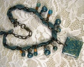 Bohemian Blues Necklace as seen in Jewelry Affaire