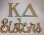kappa Deltai sorority, Greek letters, KD,  big little, sorority letters , unfinished Greek letters