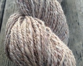Handspun Suri Alpaca Blend Yarn - Sunshine Sugar