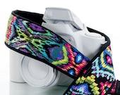 Oasis Ikat dSLR Camera Strap, Southwestern, Tribal, SLR, 105