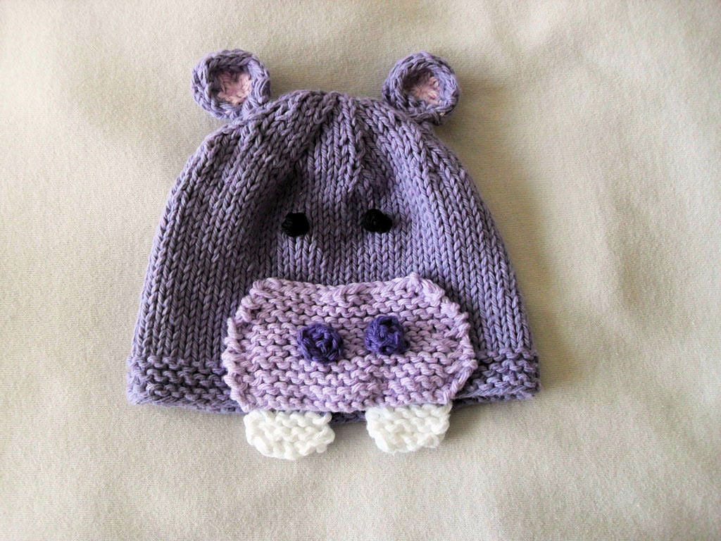 Knitting Hats : Baby hats knitting knit hat knitted by cottonpickings