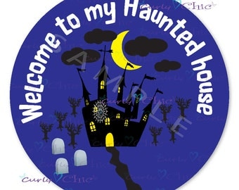 Halloween -Personalized Stickers or Labels for your Favors -Choose Size-