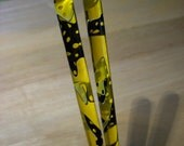 Canary Mesh acrylic Hair sticks you pick length