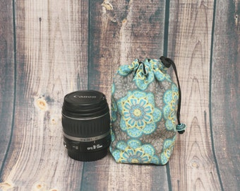 Dslr Camera, Gear, Photography, Accessories, Lens Storage, Aqua Grey, Retro Floral, Cozy Coat, Pouch Bag, Paisley Brown, Camera Gear