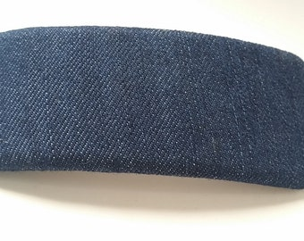 Blue Jean Denim Barrette