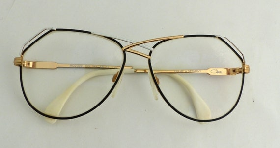 Designer Eyeglass Frames From Germany : CAZAL 1980s Eyeglasses // 80s Vintage Designer Frames // made