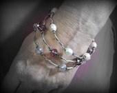 Vineyard Bracelet -small- Sterling Clear Crystal