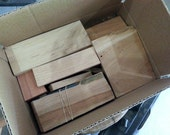 Box of Mixed Hardwood Scraps
