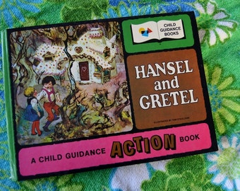 Vintage Child Guidance Action Book - Hansel and Gretel