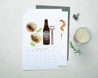 SALE! 2016 Seasonal Beer Pairings Calendar