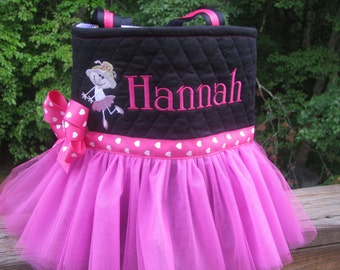 Personalized Pink Tutu with Ballet Dancer