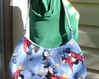 Harry Potter Medium Size Shoulder Bag--OOAK