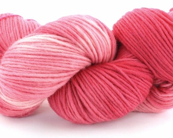 Single Ply Wool - Heavy Worsted - Peppermint