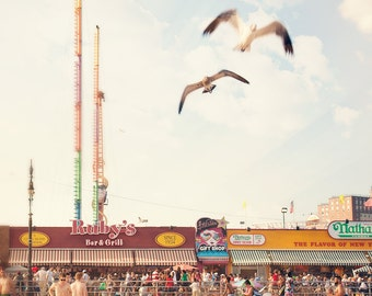 "Coney Island Boardwalk // Boardwalk Photography // Brooklyn Photography // Summer on the Boardwalk - ""Rubys"""