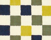 Japanese Tenugui Cotton Fabric, Traditional Fine Pattern, Colorful Check Design, Checkered, Hand Dyed Fabric, Art Wall, Home Decor, h098