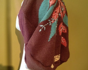 Sale was 25.00 - Harry and The Hippe Chic Upcycled Slouchy Large Dreadlock Tam