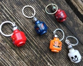Lego Monsters Stitch Markers - Set of Five