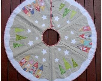 Yuletide Tree Skirt Pattern