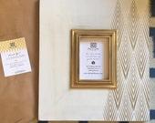 5x7 Asymmetrical Gold Tribecca Frame