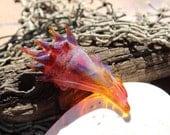 Sunset Seashell Sculpture