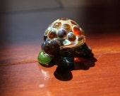 Little Glass Turtle - Shimmering green
